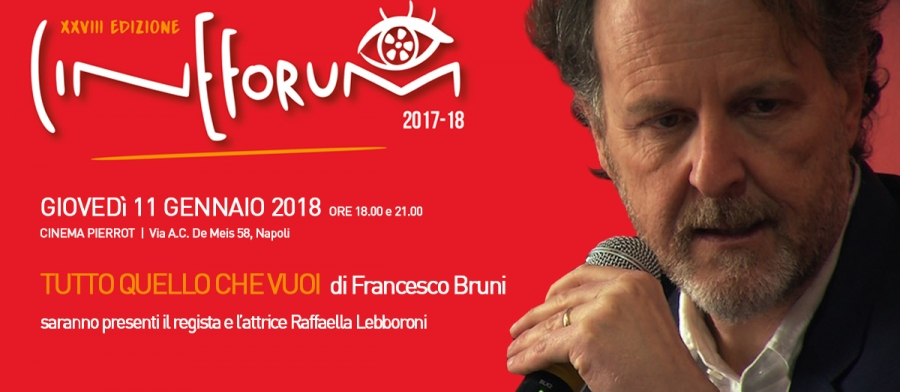 Francesco Bruni al cinema Pierrot