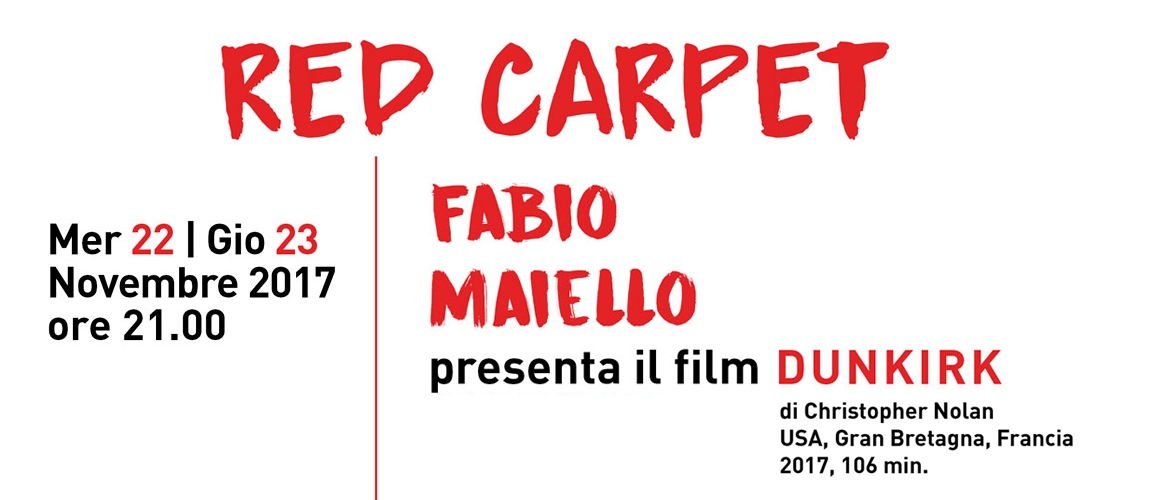 Fabio Maiello presenta il film DUNKIRK al Cineforum Arci Movie