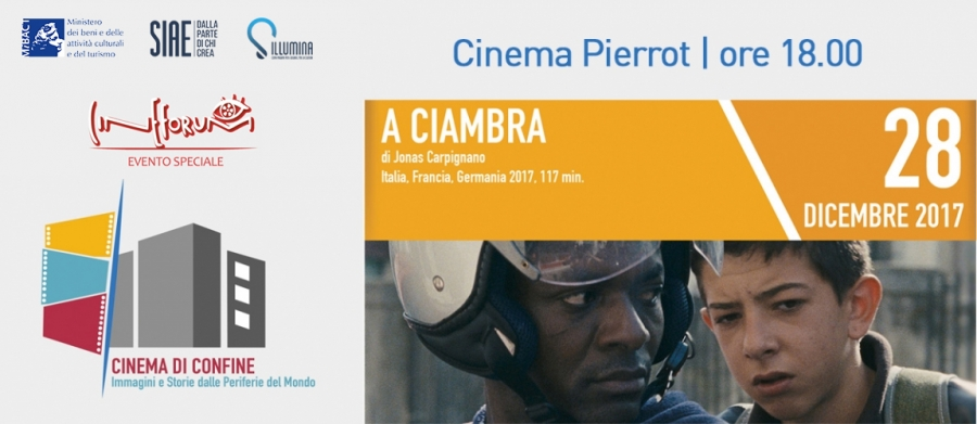 A CIAMBRA al cinema Pierrot