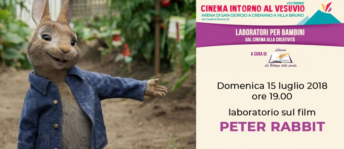 Laboratorio sul film PETER RABBIT